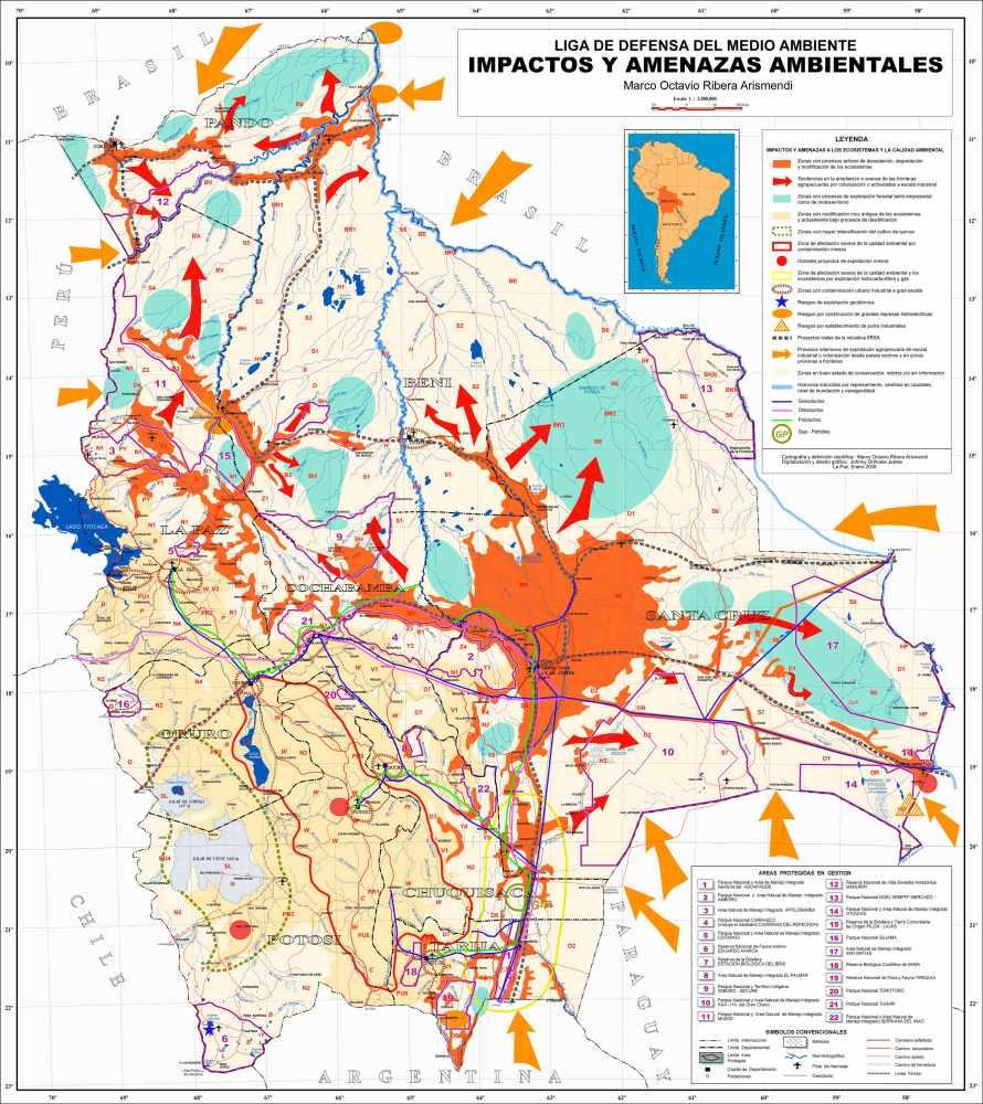 Principales problemas ambientales de Bolivia