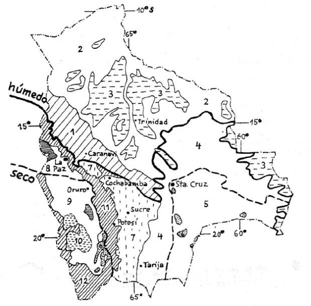 Mapa de ecorregiones